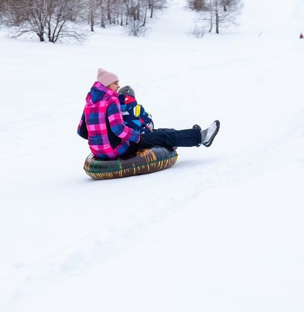 Snow Tubing Red River, NM