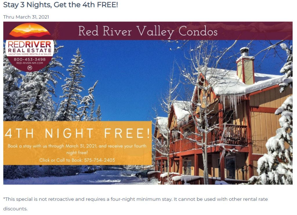 Red River Vacation Specials
