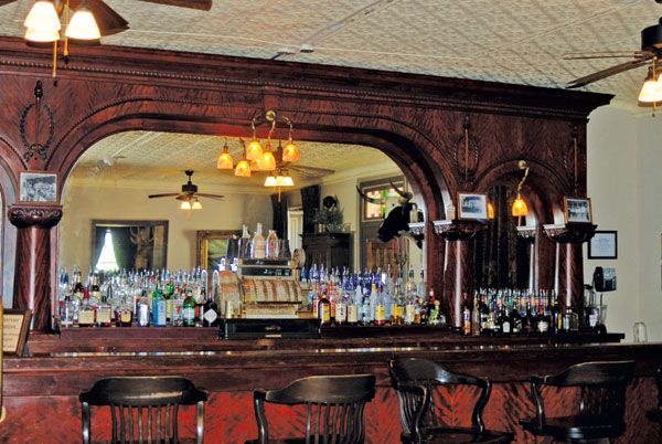 Haunted Bar St James Hotel Cimarron